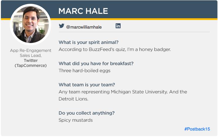 Marc Hale_Postback