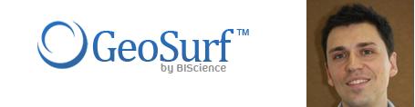 GeoSurf Logo Cameron Peron