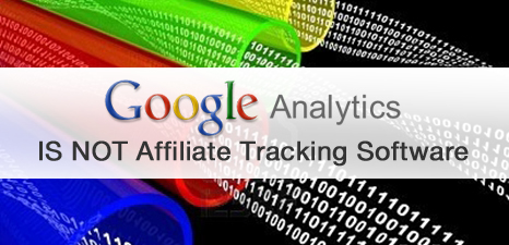 Lucas Post Google Analytics IS NOT Affiliate Tracking Software-blog