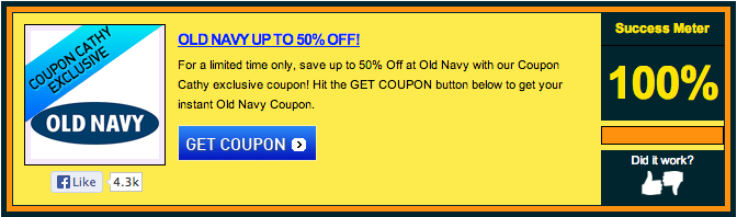 coupon scam
