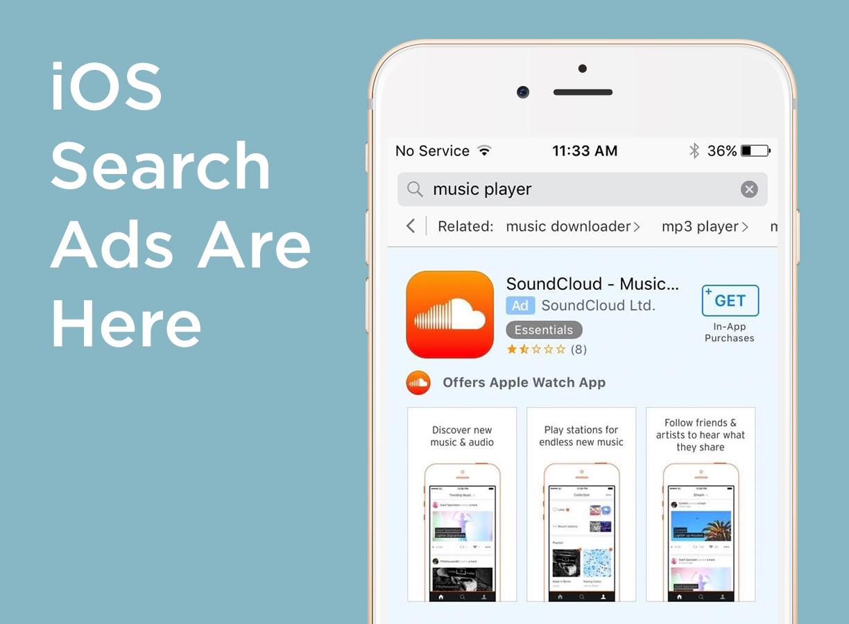 iOS search ads beta
