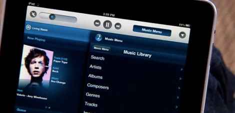 Sonos on your iPad